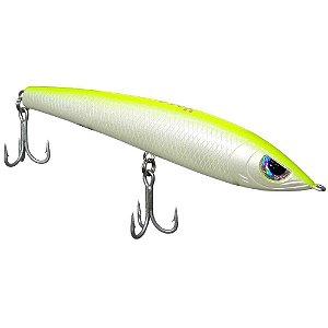 Isca artificial Yara Hunter Bait 14cm 32gr cor 10 dorso verde limao