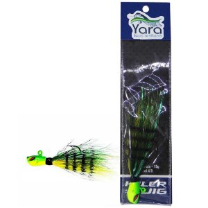 Isca artificial Yara Killer Jig 10g cor: 11 Fire Tiger