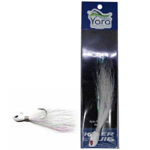 Isca artificial Yara Killer Jig 15g Branco 40 - 1740