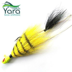 Isca artificial Yara Killer Jig 17g cor: 41 flamengo