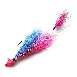 Isca artificial Yara Killer Jig 17g cor: 44 azul e rosa