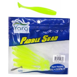 Isca artificial Yara Paddle Shad 10cm Cor 80 Verde Limao 2680