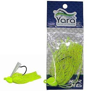 Isca artificial Yara Rubber 14g Cor 80 Verde Limao - 3080