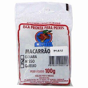 Isca Ceva Macarrão Piau 100g - Sabor Misso