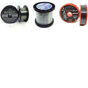 Kit 1X Linha Platinum 0,70mm-Daisen 0,90mm -Victoria 1,00mm