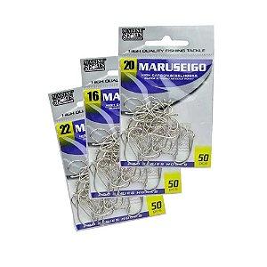 Kit 250 Anzol Marine Sports Maruseigo Nickel -16- 20- 22