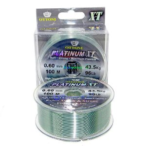 Kit 2 Linhas Monofilamento Platinum XT BOX 0,60mm