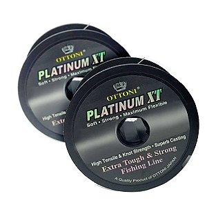 Kit 2X Linha Monofilamento Platinum XT - 0,70mm 51kg - 100m