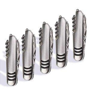 Kit 5 Canivetes Inox multifuncional 11 Funções tipo Suíço