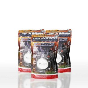 Kit 6000 Esferas Munição BBS Airsoft NTK Velozter 0,12g 6mm