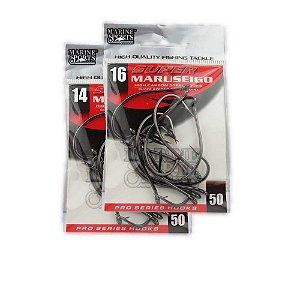 Kit Anzol Marine Sports Super Maruseigo Black n. 14 e 16
