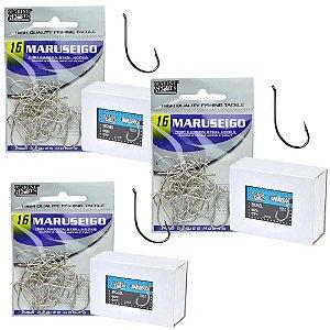 Kit Anzol MS Maruseigo Nickel 1X-06-08-10-12-14-18 e 2X-20