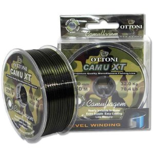 Kit Linha Camu XT 0,50mm - 150m + Linha Camu XT 0,40mm - 250m