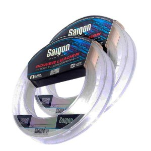 Kit Linha Fluorcarbono MS Leader 0,33 + 0,38mm