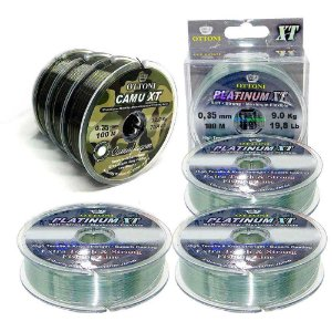 Kit Linha Mono Camu XT 0,35mm+Linha Mono Platinum XT 0,35mm