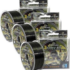 Kit Linha MonofCamuXT 0,30mm-300m-0,35mm - 270m-0,40mm-250m