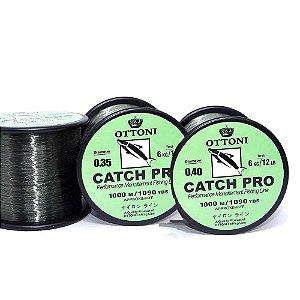 Kit Linha monofilamento Catch Pro - 0,35mm e 0,40mm