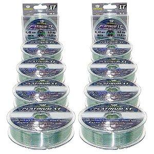 Kit Linha Monofilamento Platinum XT - 0,40mm e 0,45mm