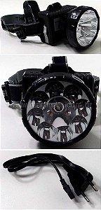 Lanterna de cabeça recarregável LED ECO-161 - Eco-Lux