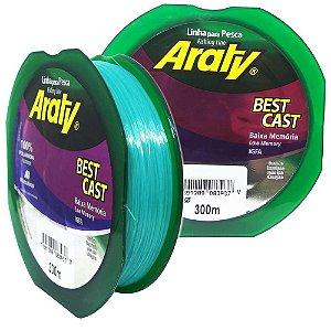 Linha Araty Best Cast 0,35mm 300m Verde