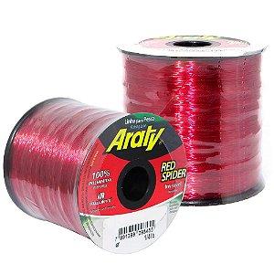 Linha Araty Red Spider 0,45mm c/ 625 m