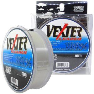 Linha Fluorcarbono Marine Sports Vexter Leader 0.52mm 33lb/14,96kg