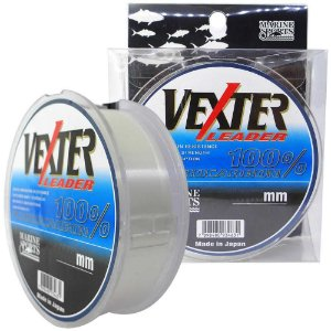 Linha Fluorcarbono Marine Sports Vexter Leader 0.62mm 44lb/20kg