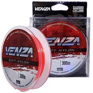 Linha Marine Sports Venza Soft Nylon Orange 0,37mm 18 lb 300m