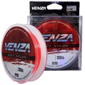Linha Marine Sports Venza Soft Nylon Orange 0,37mm 18 lb 300m