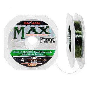 Linha Maruri Max Force Nylon 0,26mm - 100m