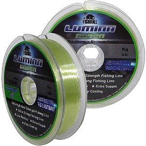 Linha Monofilamento Lumina Green 0,45mm 100m