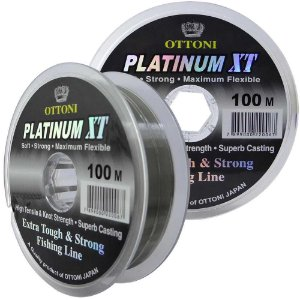 Linha Monofilamento Platinum XT - 0,20mm 5,43kg - 100m