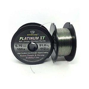 Linha Monofilamento Platinum XT - 0,70mm 51kg - 100m