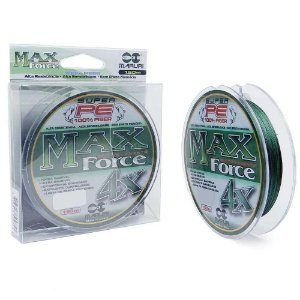 Linha Multifilamento Maruri Max Force 4x 150m 0,18mm 21lb - Verde