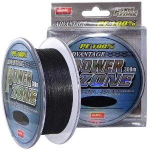 Linha multifilamento Power Zone. 130lb 0,50mm 300m cor cinza