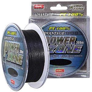 Linha multifilamento Power Zone 33lb 0,20mm 300m cor cinza