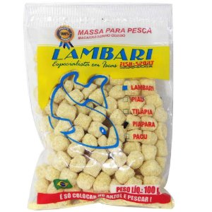 Massa Lambari Fish Sport Piapara Natural 100g