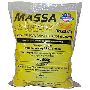 Massa Max Extreme 500gr - Tambaqui Pacu Tambacu e Patinga