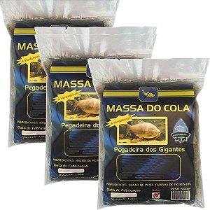 Massa para pesca Do Cola Kit 3 pacotes de 500 g