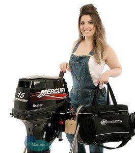 Motor de Popa Mercury 15 Super Preço p/ Produtor Rural e PJ