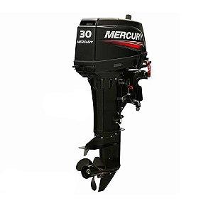 Motor de popa Mercury 30 HP Japonês 2 Tempos  Preço Produtor Rural e PJ Entrada + 12x de R$ 644,80 no cartão