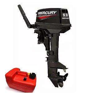 Motor de popa Mercury  9.9 HP 2T Preço Produtor Rural e PJ R$ 6.710,00