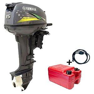 Motor de Popa Yamaha 15 Hp Modelo Gmhs Preço especial Produtor Rural e PJ Sul e Sudeste à vista R$ 8.290,00 ou entrada 30% R$ 2.487,00 + 12x R$ 556,12 no cartão de credito.