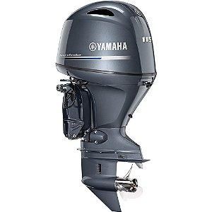 Motor de popa Yamaha F115 4 Tempos - BETL EFI - Elétrico com comando - sujeito à confirmação de estoque