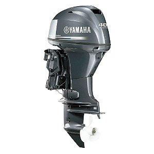 Motor de popa Yamaha F 40 4 Tempos - FETL - Elétrico com comando e POWER TRIM - 20 pol.
