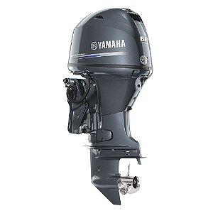 Motor de popa Yamaha F 60 4 Tempos - FETL EFI - Elétrico com comando