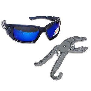 Óculos Maruri + Alicate Pega Peixe ABS reforçado