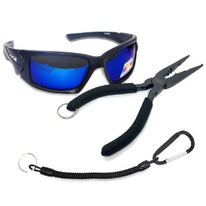 Óculos Maruri Polarizado 6556+ Alicate MS SRP-165 + Cordão