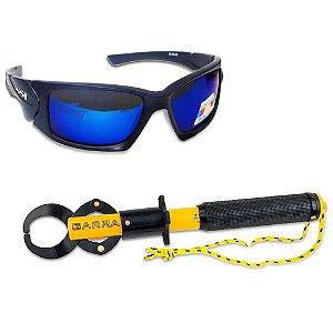 Óculos Maruri Polarizado 6556+ Alicate pega peixe Garra c/ balança