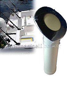 Porta caniço plastico com protetor inox PV 401